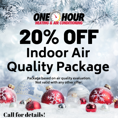 20% indoor air quality package
